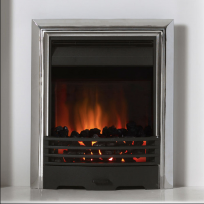 Burley Stoves The Langton Black/Chrome