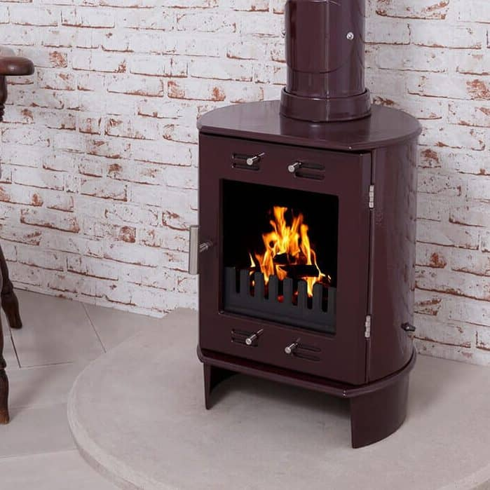 Carron Dante 5kw Cast Iron Stove