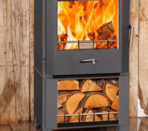 Henley Cheltenham 5kW Stove With Log Box