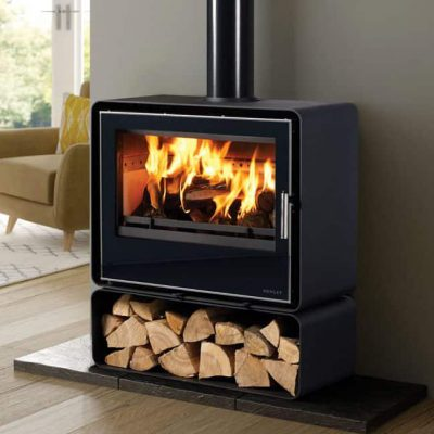 Henley Orion 700 12kw Black Glass Stove