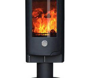 Oak Stoves - Zeta 10 Pedestal - Multi-Fuel Stove