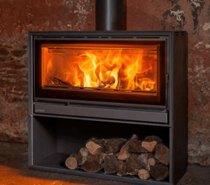 Opus Cubic Tempo 100 9KW Wood Burning Stove