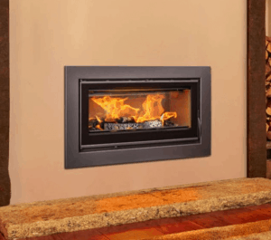 Opus Cubic Tempo 100I 9KW Inset Wood Burning Stove