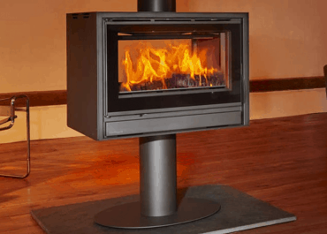Opus Cubic Tempo 100I Double Sided Stove