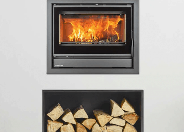 Opus Cubic Tempo 70I 5KW Wood Burning Stove